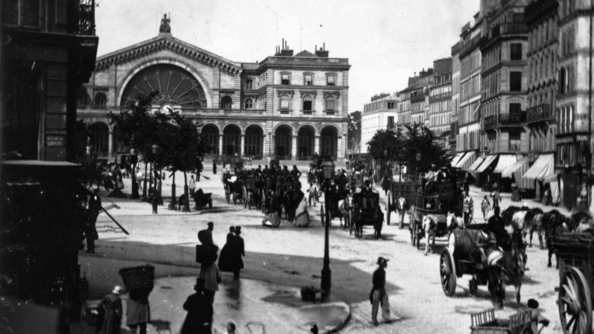 Източната гара на Париж (Gare de l'Est)