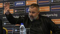 Футболният селекционер на България: Може да ви изглеждам малко луд, но аз вярвам
