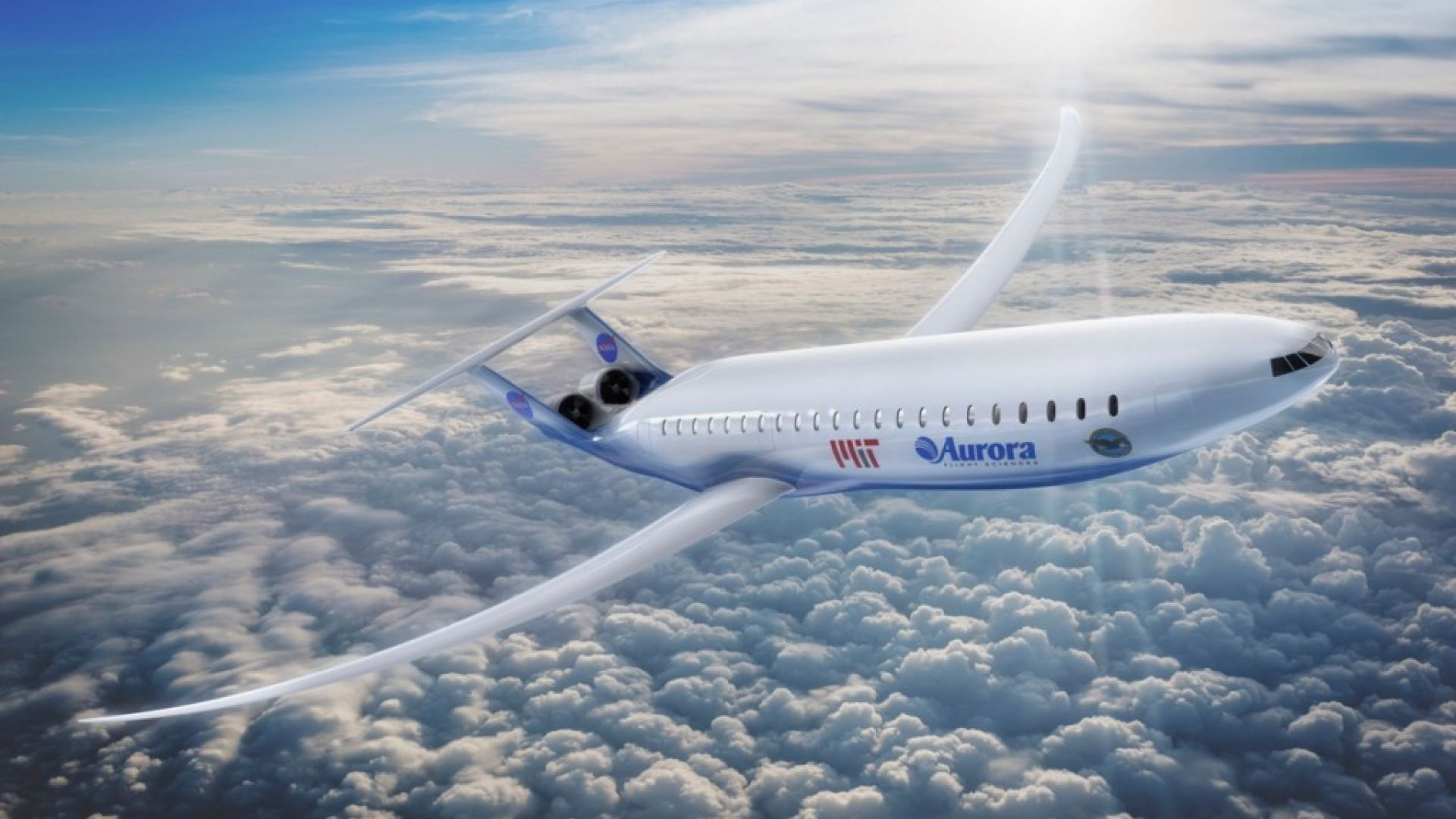 Учени представиха иновативен хибриден самолет