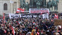 Виена се надигна срещу ограничителните мерки