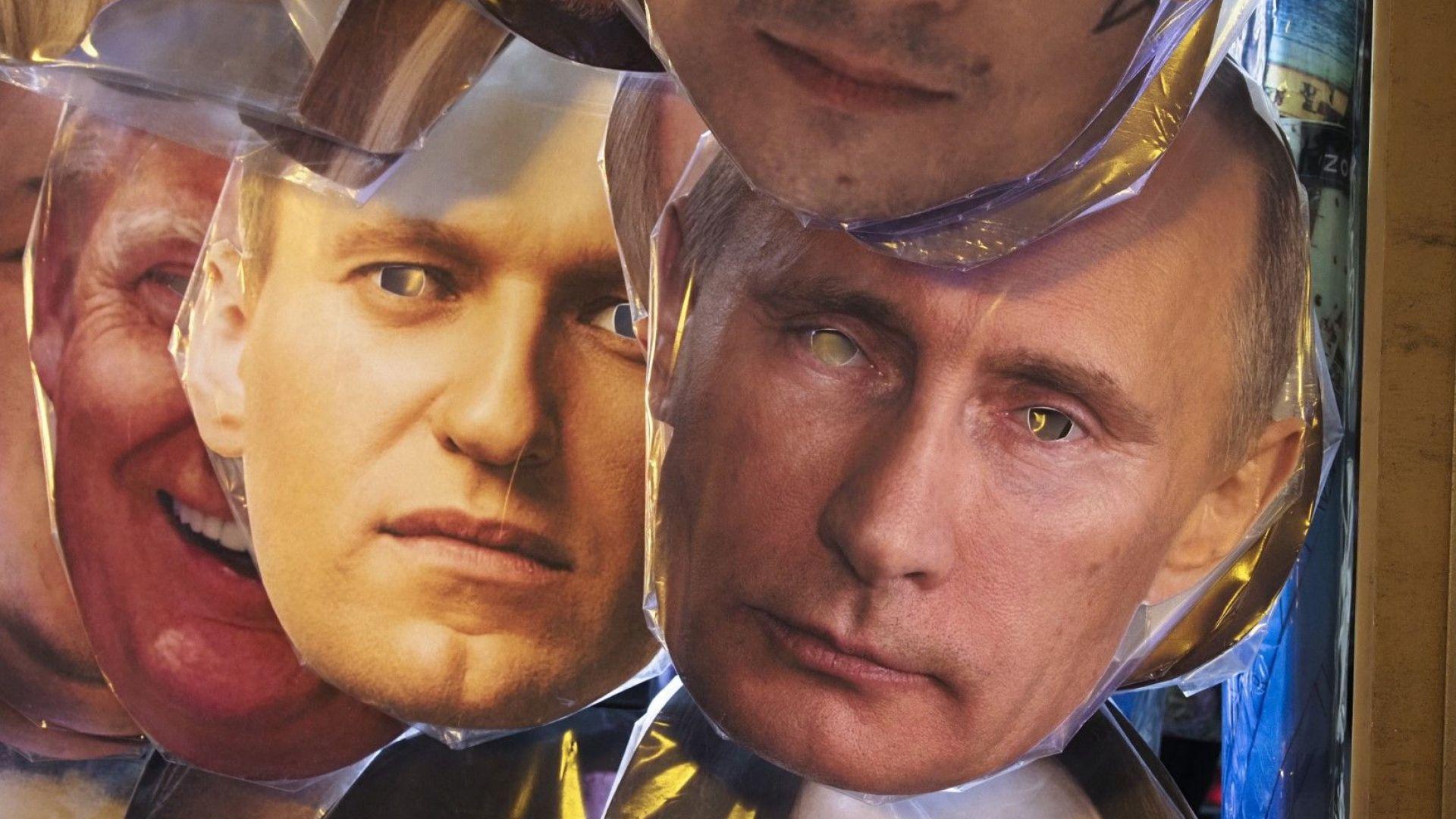 Москва засили мерките за сигурност в очакване на Алексей Навални