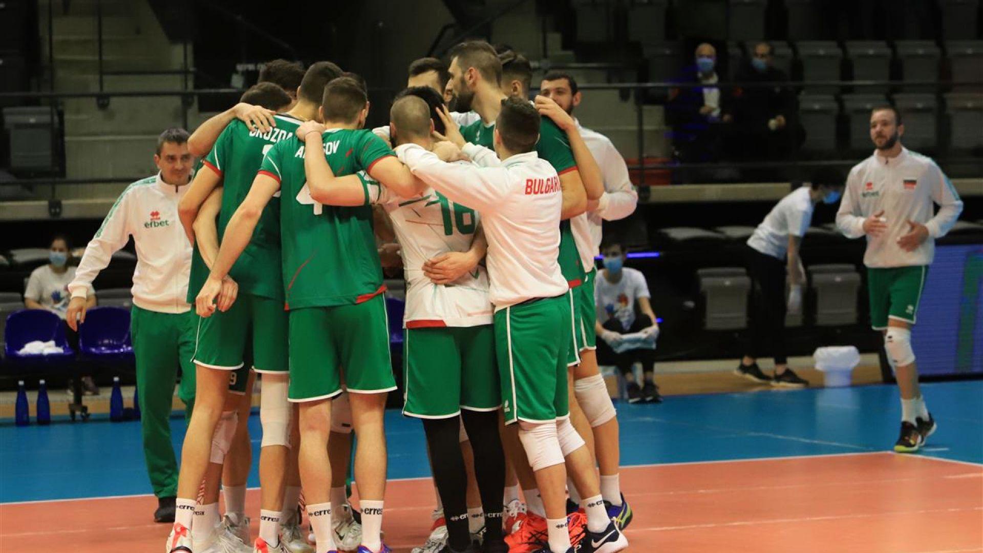 4 от 4 за волейболна България в квалификациите - нова чиста победа над Израел