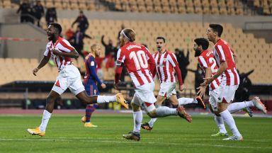 Непримиримият Билбао не се даде на Барса и вдигна Суперкупата