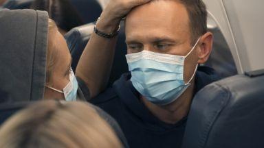 """Светът реагира на задържането на Навални,  Русия - """"уважавайте законодателството ни"""""""