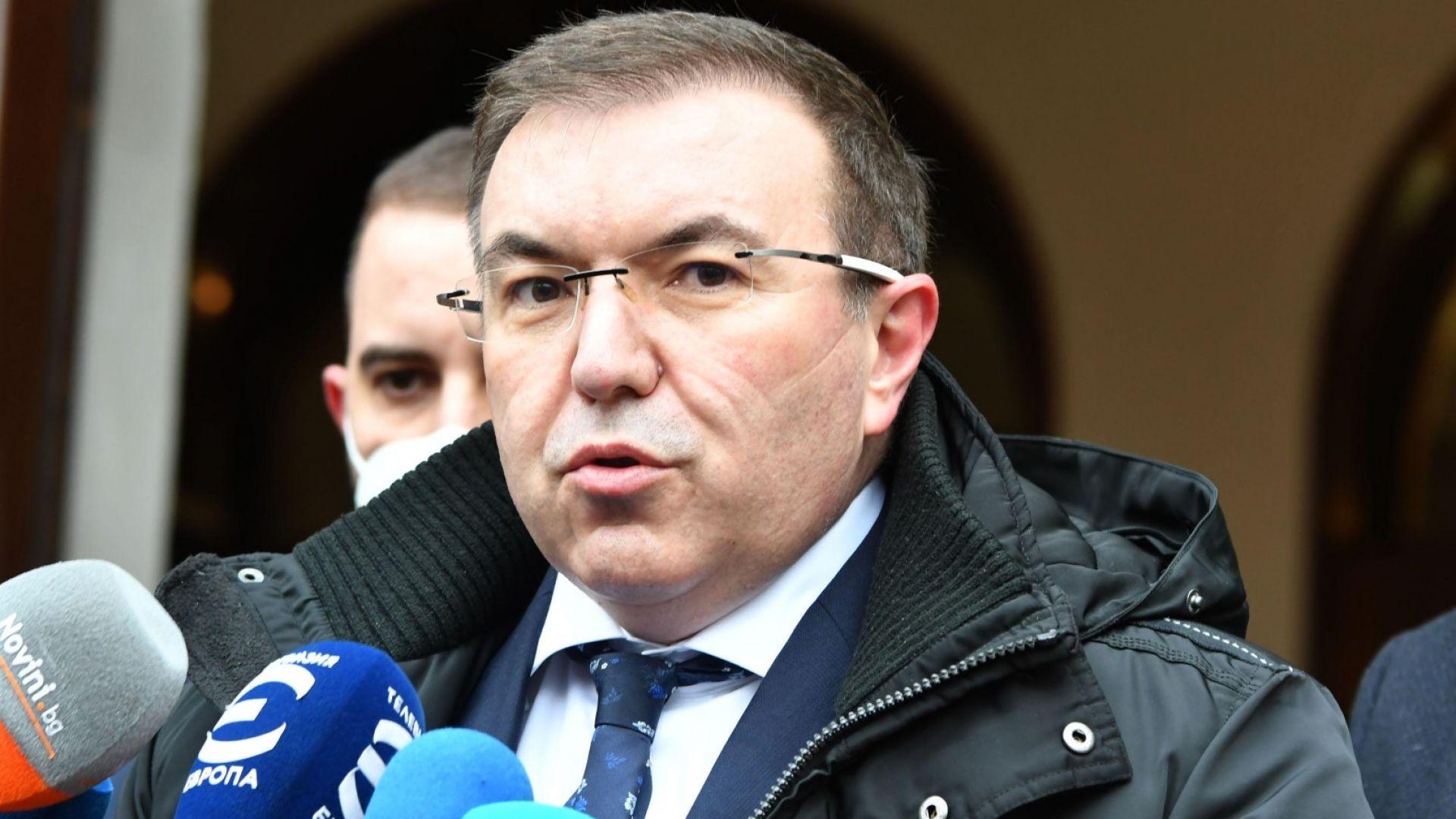 Здравният министър потвърди, че синът на президента е бил на парти, спряно от полицията