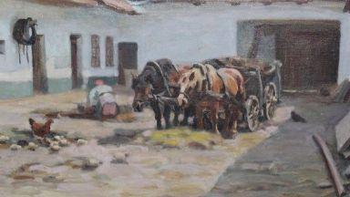 Иззеха 1418 картини от Васил Божков, сред тях има шедьоври на Майстора (снимки)