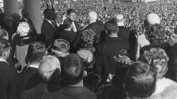 Обединена Америка с любимец за президент: Встъпването на Кенеди и паметната му реч