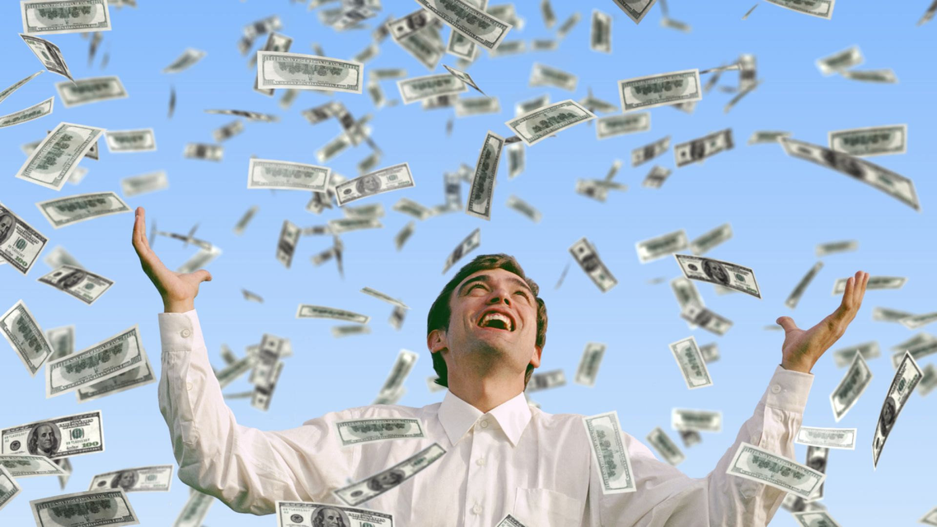 Щастие с пари (все пак) се купува...