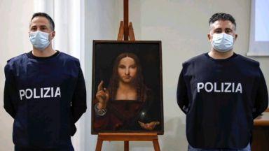 """Вариант на """"Спасителят на света"""" на Леонардо беше открит в апартамента на неаполитанец"""