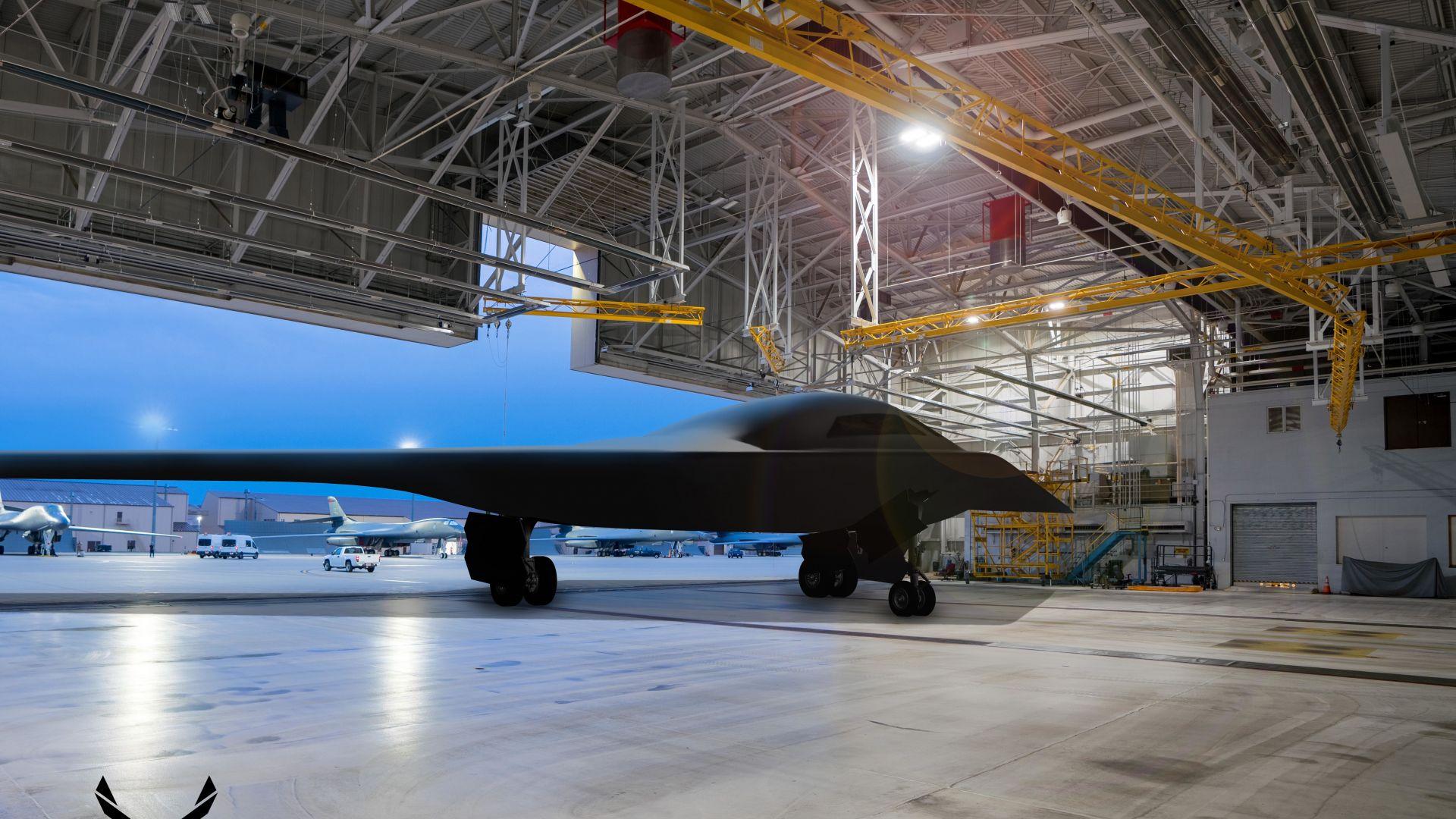 Новият американски стелт бомбардировач В-21 полита през 2022 г.