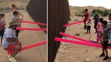 """Люлки на границата между САЩ и Мексико са големите победители на наградите """"Бизли"""" за дизайн"""