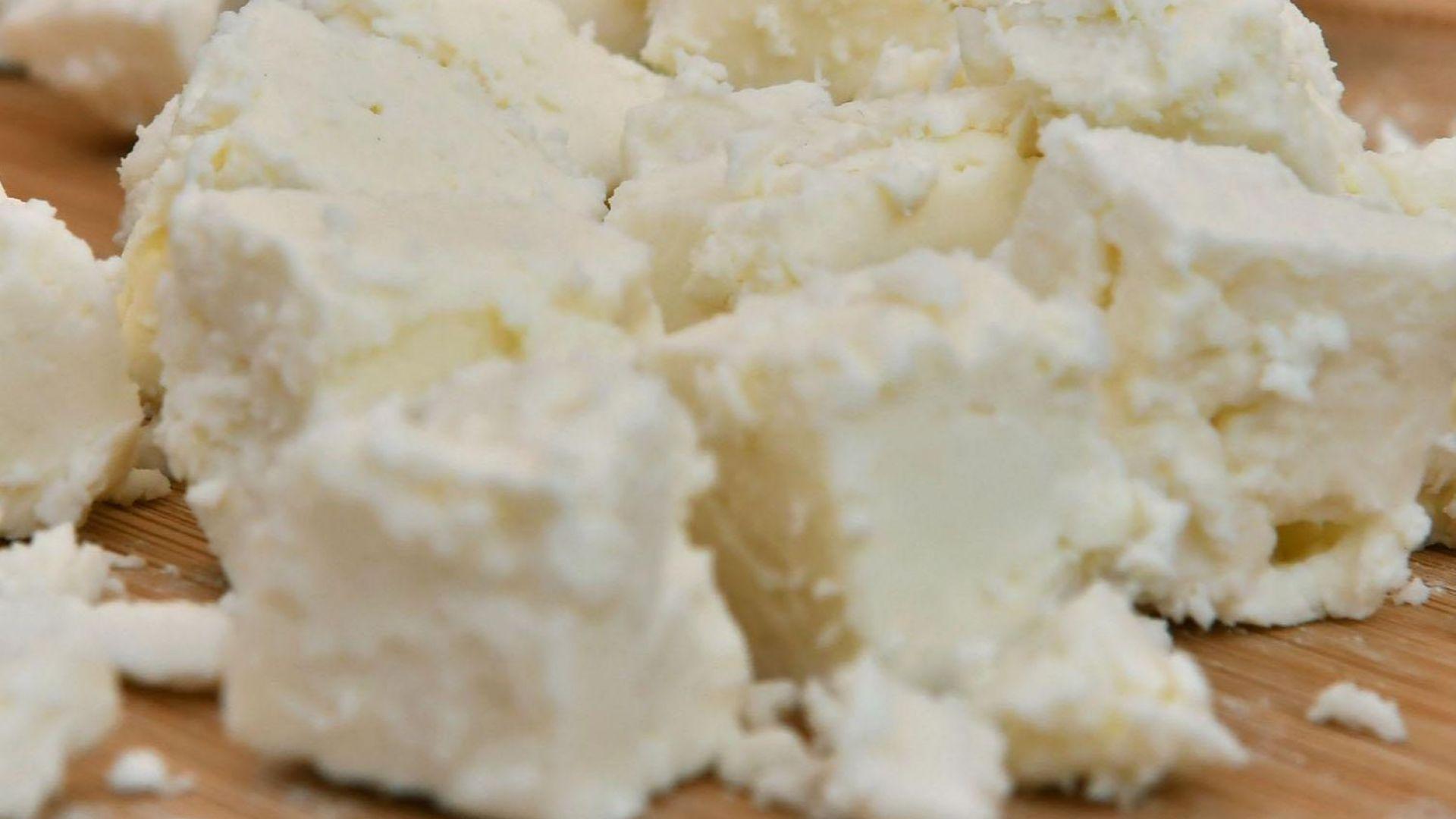 Откриха 600 кг старо сирене, готово за продажба