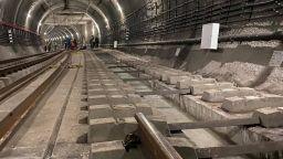 Деформираното трасе от третия лъч на метрото остава затворено поне два месеца