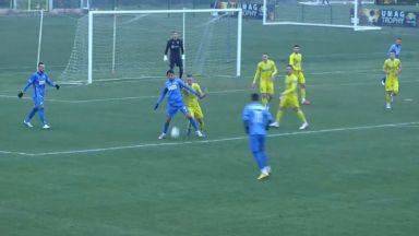"""""""Левски"""" стартира подготовката със загуба след две грешки на новия страж"""