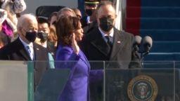 Камала Харис се закле като първата жена вицепрезидент на САЩ
