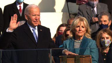 """""""Демокрацията надделя. Това е денят на Америка"""": Джо Байдън е 46-ият президент на САЩ (видео)"""