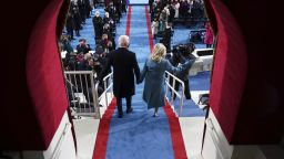 Инаугурацията в снимки: Първите минути на Байдън и Харис начело на САЩ