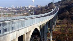 """Опасен ли е """"Дъговият мост"""" в Русе?"""