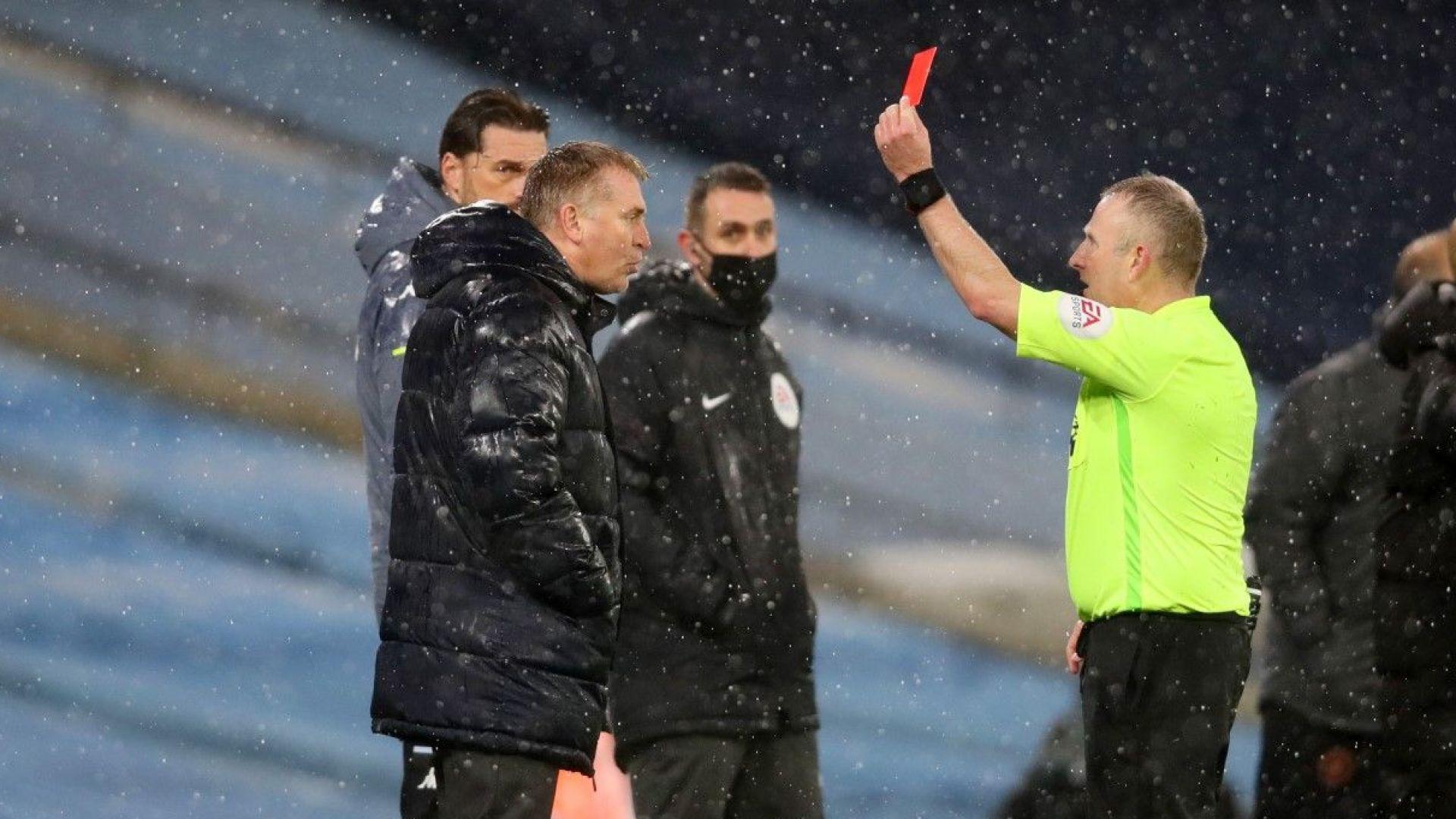 """Мениджърът на Вила нарече рефер """"клоун"""" след скандален гол за Манчестър Сити"""