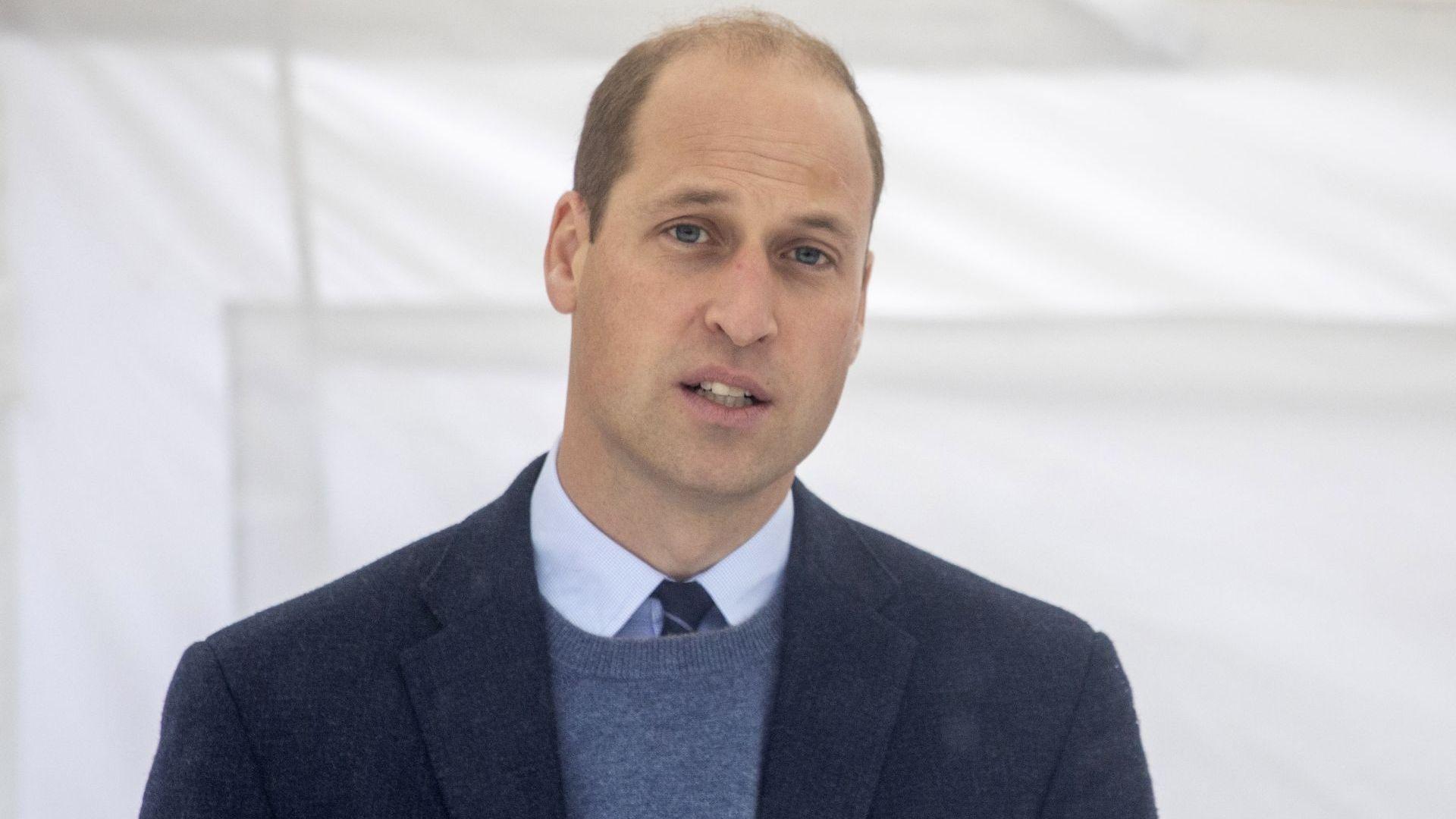 Принц Уилям бил преследван от полицейско куче, помислило го за нарушител