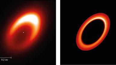 Астрономи наблюдаваха формираща се планета