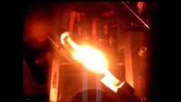 Вижте как избухва пожар в космически кораб на НАСА
