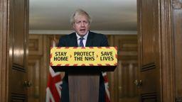 Джонсън с обръщение към нацията: Новият вариант на COVID-19 може да е по-смъртоносен (видео)