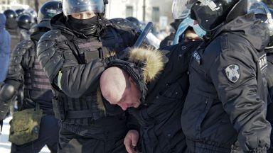 Ден на протести в Русия заради Навални. Десетки арестувани в Далечния изток (видео)