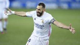 И без Зидан, Реал Мадрид се върна зрелищно към победите