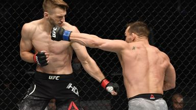 Американски ветеран нахлу с гръм и трясък в UFC и предизвика Хабиб да се завърне