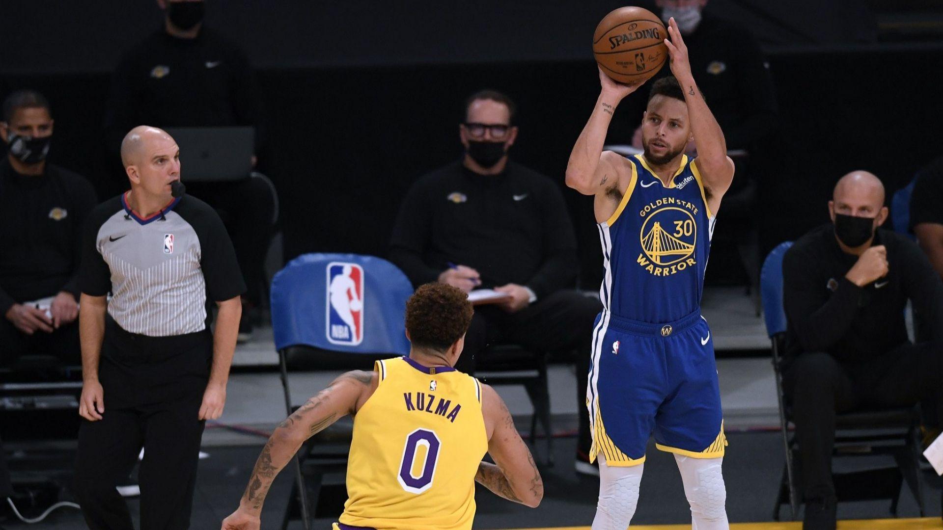 Пет тройки пратиха Стеф Къри на второто място във вечната ранглиста на NBA