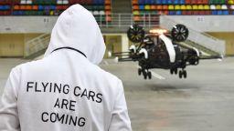 В Москва тестват летящи таксита