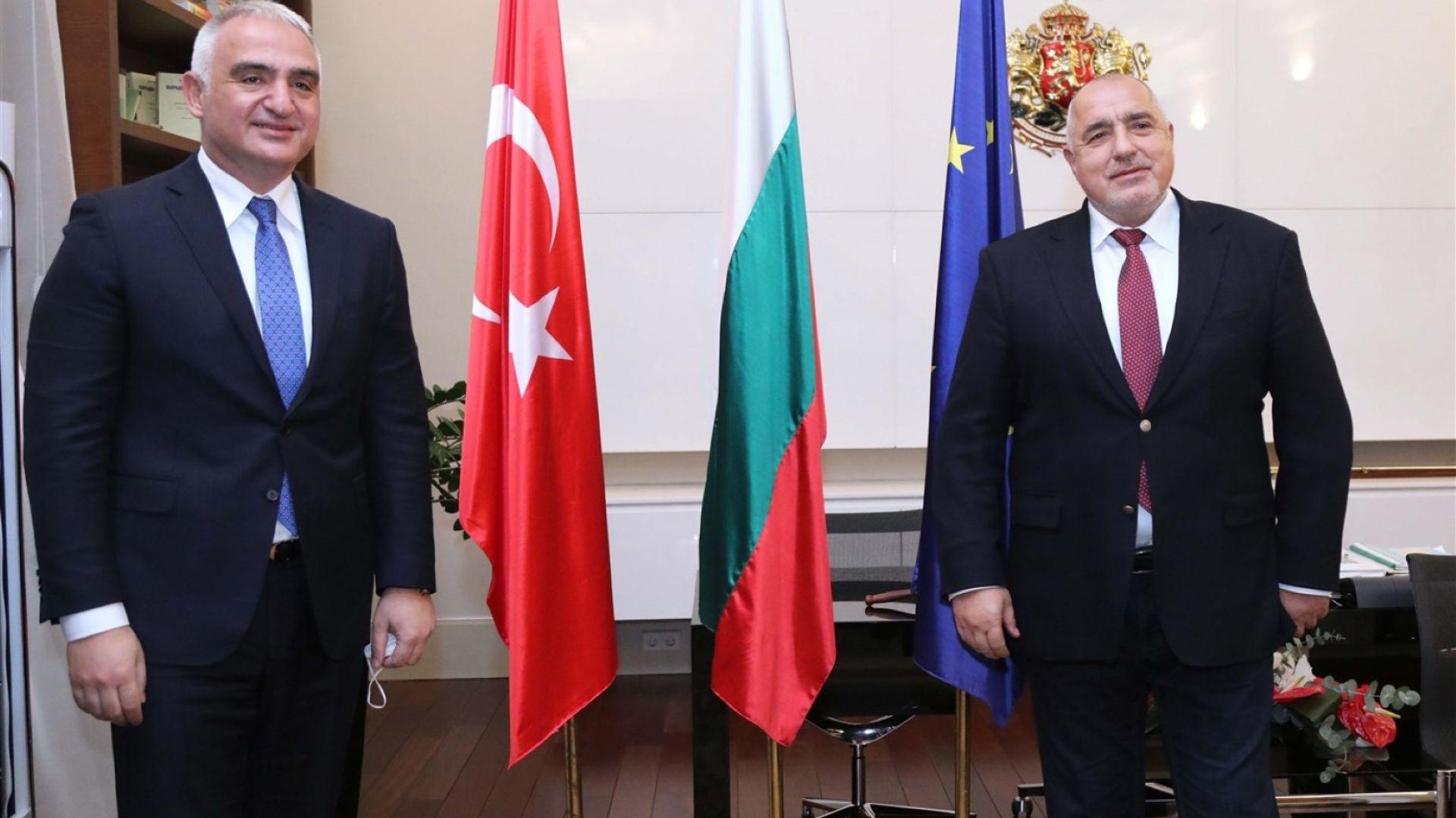България и Турция ще работят за по-лесното издаване на визи за турски туристи