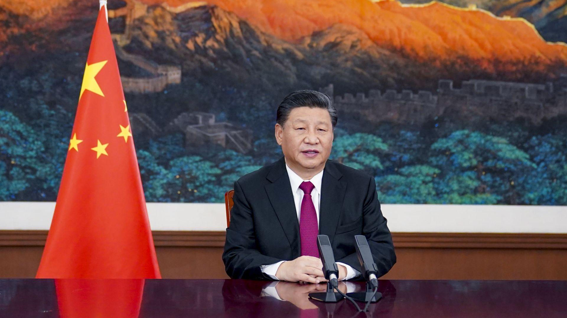 """Без Байдън на онлайн форума """"Давос"""", китайският президент Си Цзинпин държа реч"""