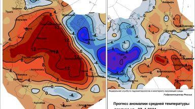 Лют мраз в Сибир и в Далечния Изток