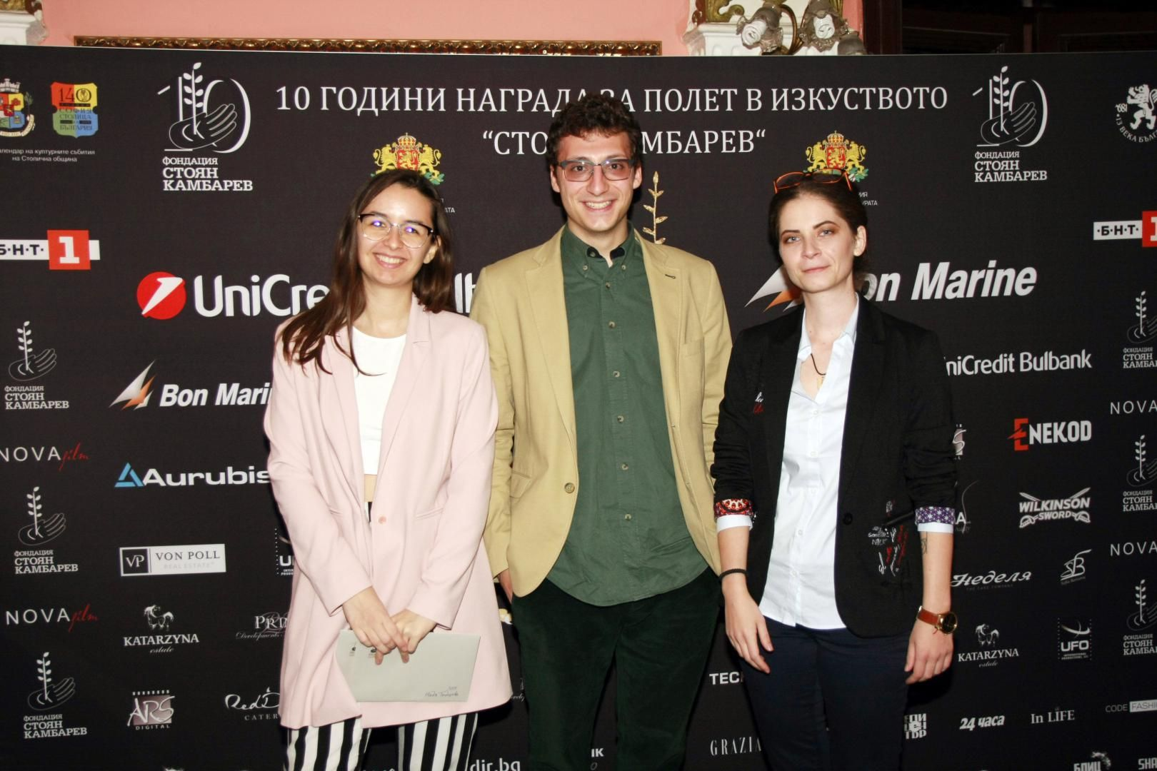 финалистите от 2019 г. - Надя, Йордан и Стефани