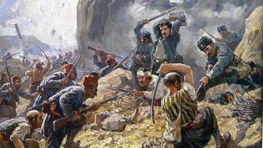 Възходите и паденията в българската история през четката на Димитър Гюдженов