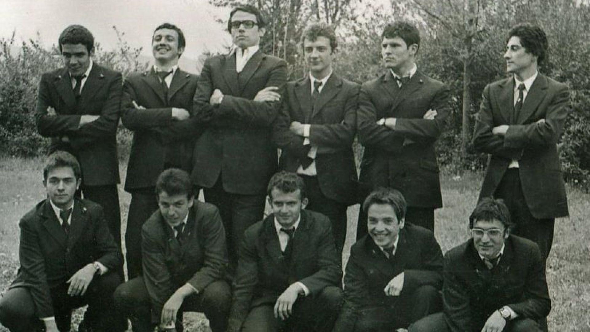 Като част от участниците в мъжкия маршовия блок на Пловдивската английска гимназия