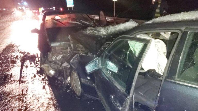 Верижна катастрофа е станала на главен път Е-79 край Благоевград,
