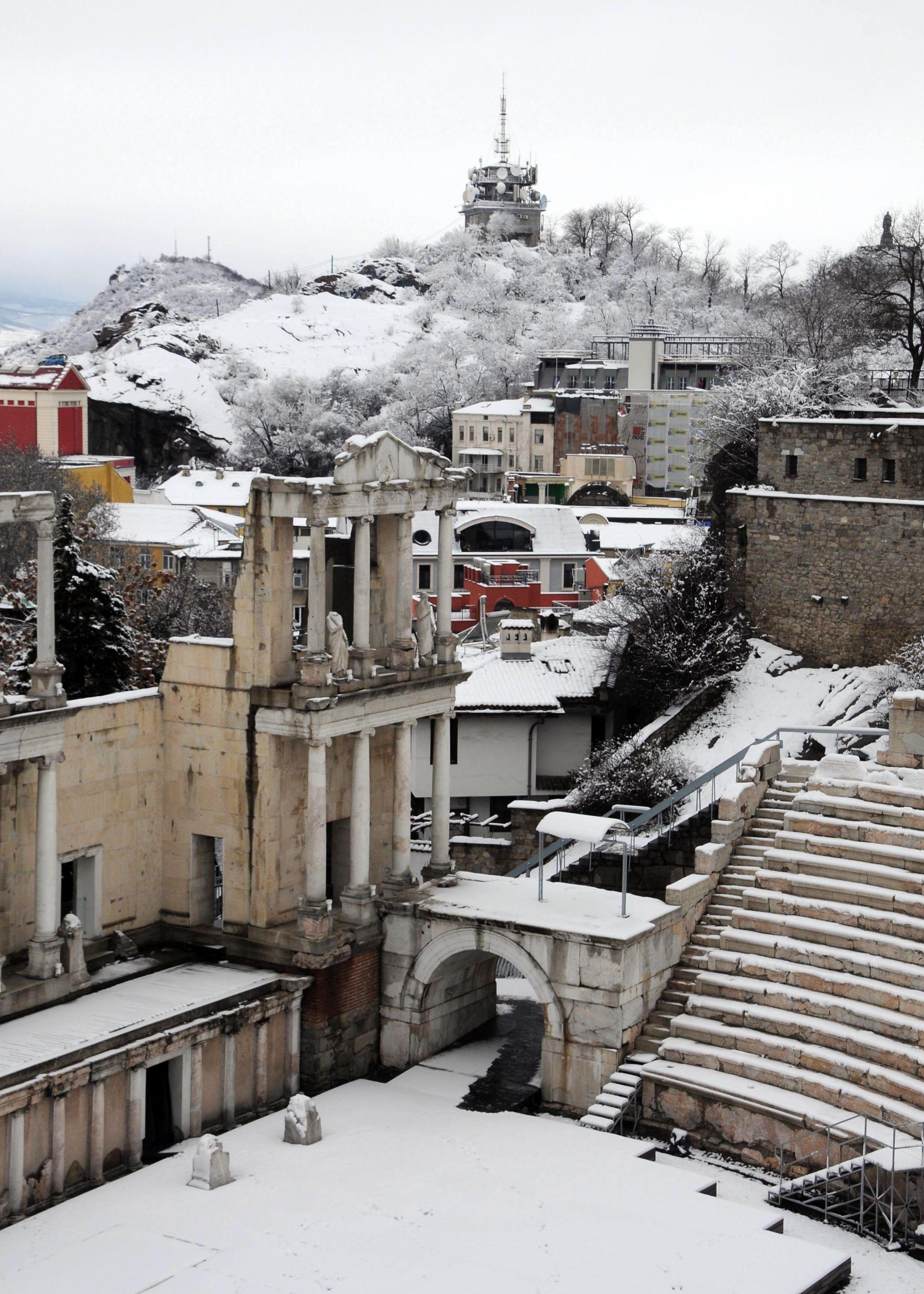 Снежен Пловдив