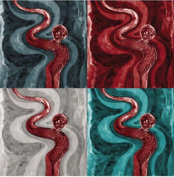 Рисунка показва какво се случва със засегнатите съдове, когато човек има аневризма в мозък