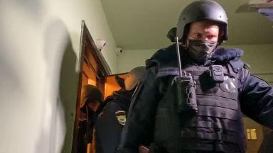 Московската полиция претърси офис и апартаменти на семейството на Навални