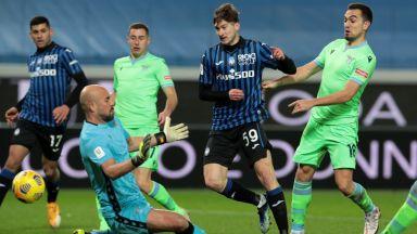 Супер шоу срещу Лацио прати 10 от Аталанта на полуфинал