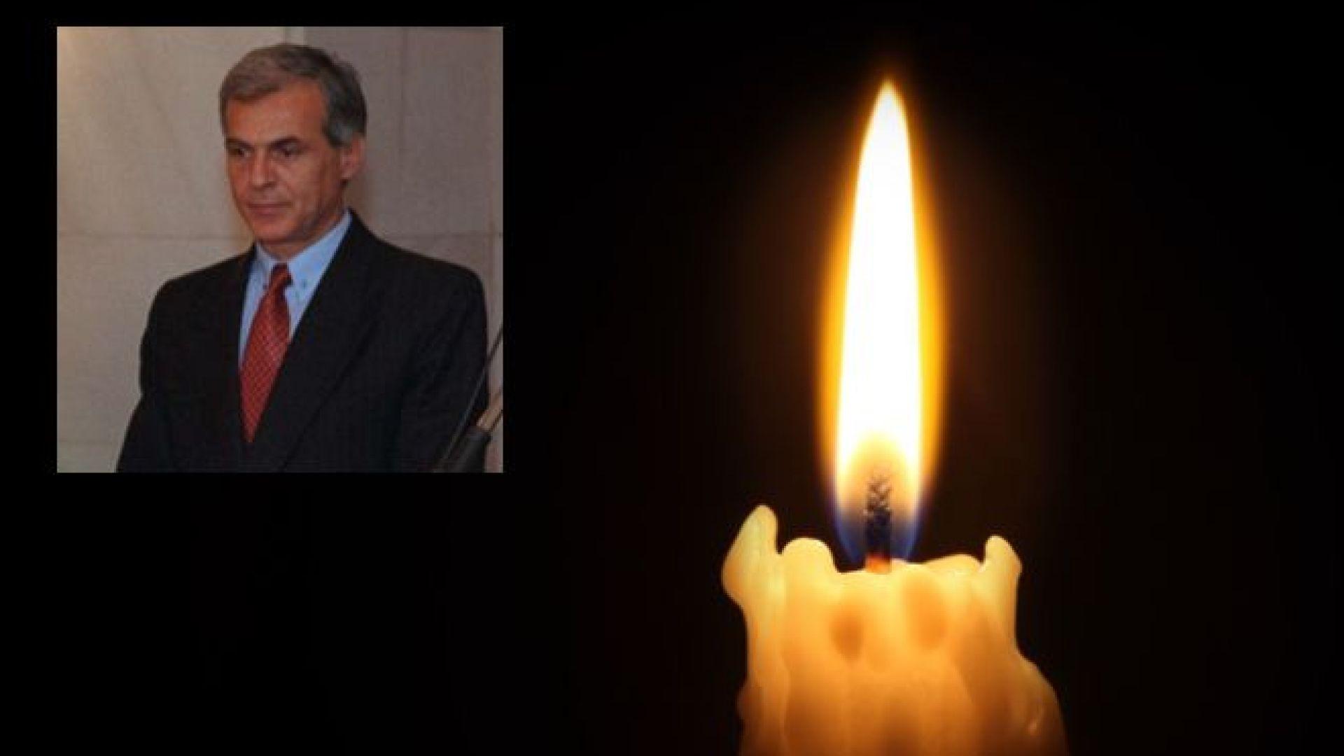 Covid-19 погуби бившия военен министър Георги Ананиев