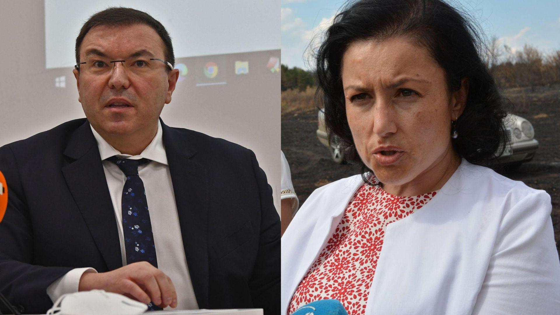 Костадин Ангелов оспори в съда нормативен акт на Десислава Танева