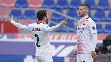 """Две дузпи изведоха Милан от кризата и го оставиха на върха в Серия """"А"""""""