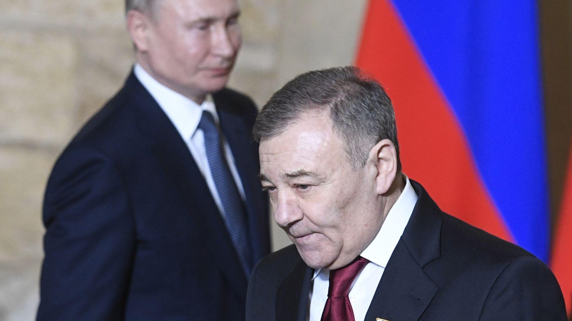 """Руски бизнесмен и бивш партньор по джудо на Путин: Аз съм истинският собственик на """"двореца"""""""