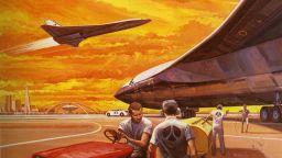 НАСА и най-големият космически самолет в света