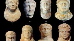 Скални гробници с мумии са открити в древноегипетски храм в Александрия