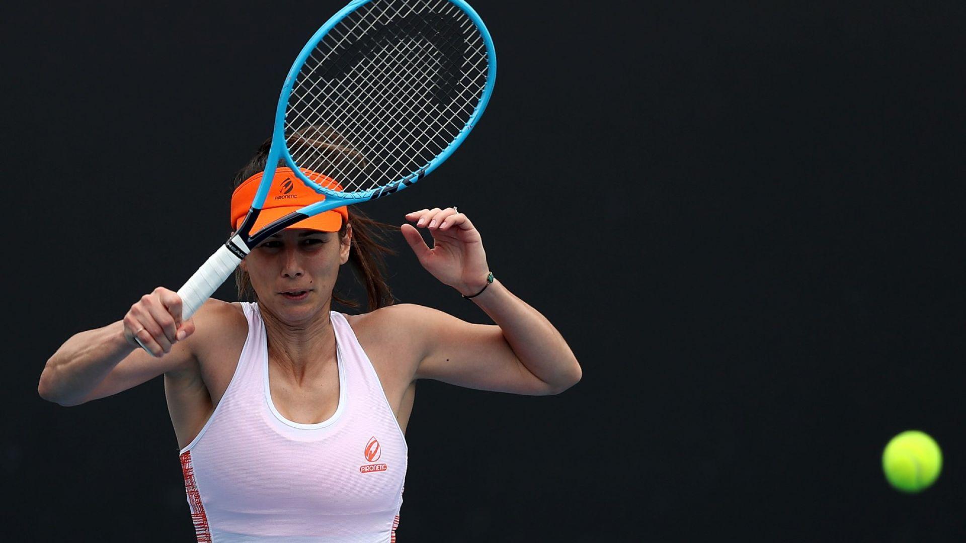 Пиронкова обърна опитна румънка за място на четвъртфиналите в Нотингам